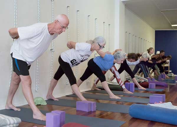 yoga for older people in lismore